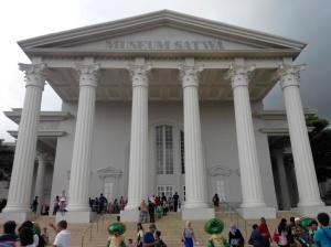 Museum Satwa Tampak Depan