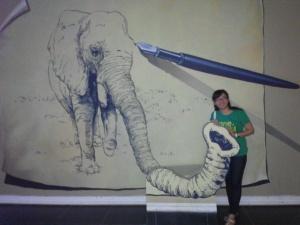 3D Art di Museum Satwa