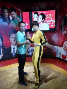 Koleksi patung Bruce Lee di Madame Tussauds