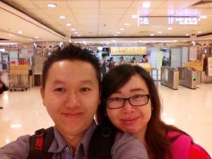 Suasana Hong Kong China Ferry Terminal