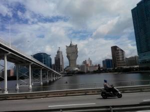 Sebagian kecil dari gedung-gedung di Macau