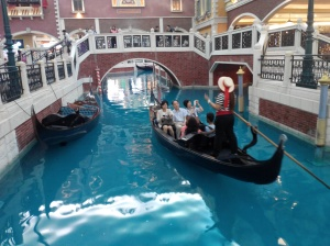 Gondola Tour at The Venetian