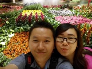 Paradise Garden di dalam Sands Cotai mall